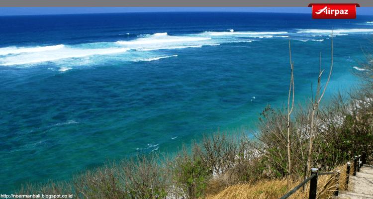 foto pantai pasir putih