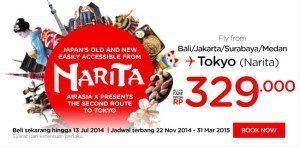 Promo Air Asia Jepang