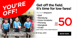 Promo Air Asia Singapore