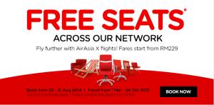 Promo Air Asia Free Seat