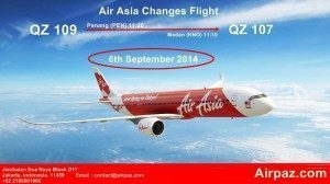 Air Asia Changes Flight