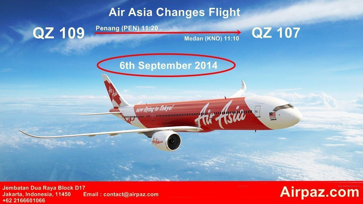 Airasia Changes Flight Airpaz Blog The Most Complete Holiday Jakarta Singapore