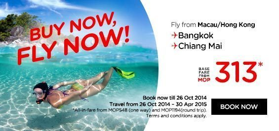Promo Airasia Macau