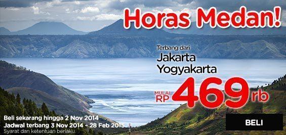 Promo Airasia Medan, Horas.!