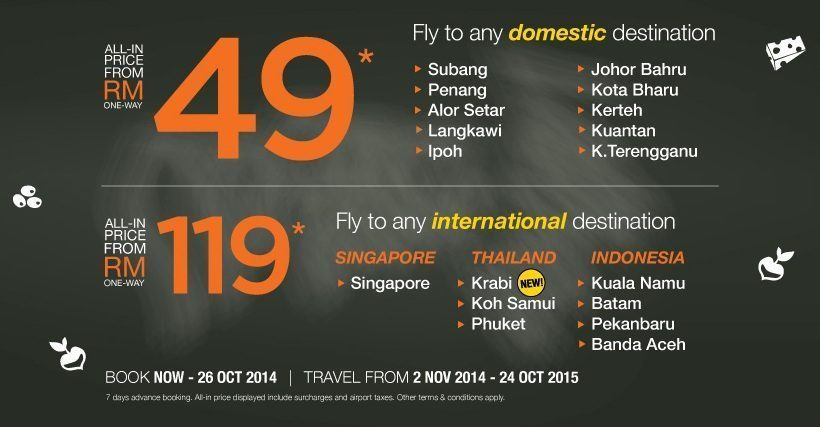 Promo Firefly With Airpaz 26 October 2014