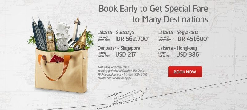 Promo Garuda Indonesia 31 October 2014