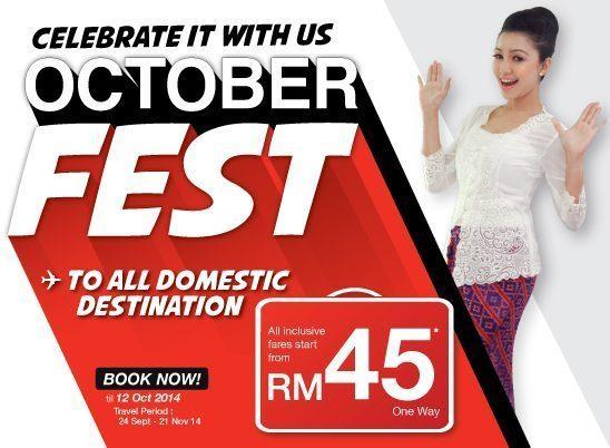Promo Malindo Air October