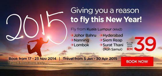 Airasia Promo 2015