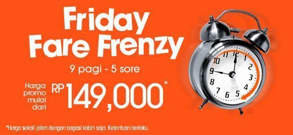 Friday Fare Frenzy Jetstar - Airpaz