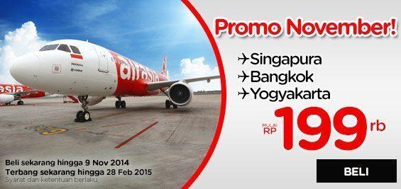 Promo Air Asia 3-9 November 2014