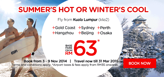 Promo Air Asia Summer Winter