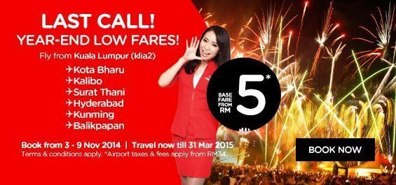 Promo Airasia 3 November 2014 Airpaz