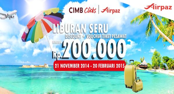 Promo Airpaz CIMB