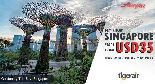 Promo Tiger Air Singapore