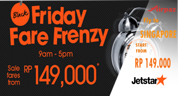 promo Friday Frenzy Fare