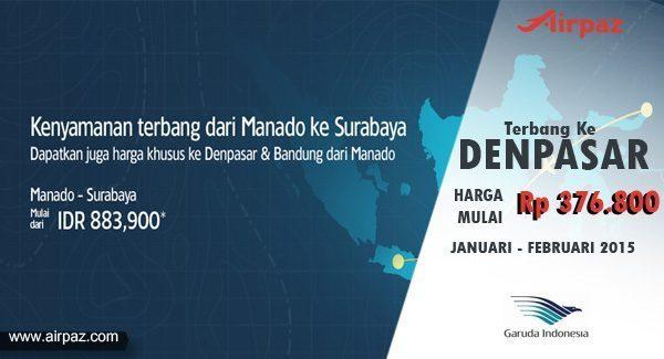 Promo Tiket Pesawat Murah Garuda Indonesia