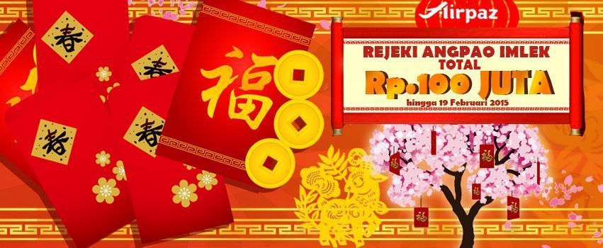 Chinese New Year Promo Total IDR 100.000.00
