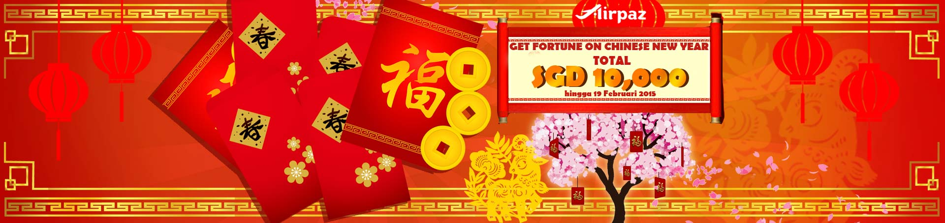 Chinese New Year Total SGD 10.000