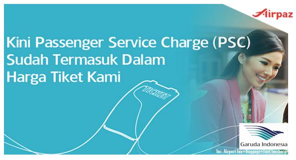 Garuda Indonesia Sudah Termasuk Airport Tax