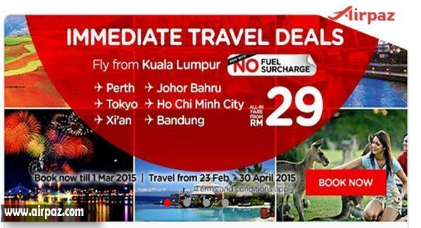 Promo Airasia Fly to Tokyo Only RM29