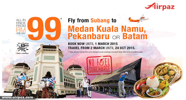 Promo Cheap Flights Firefly Till 1 Mar 2015