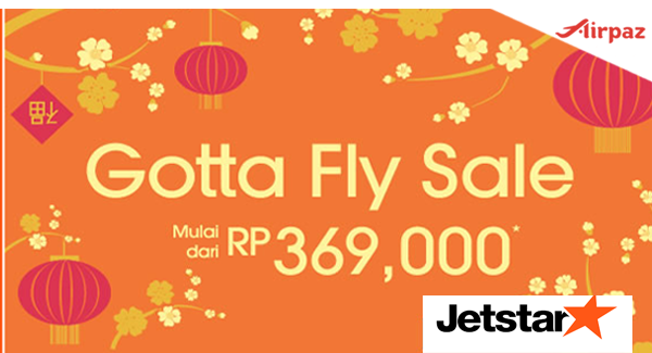 Promo Tiket Pesawat Jetstar Gotta Fly Sale 2015