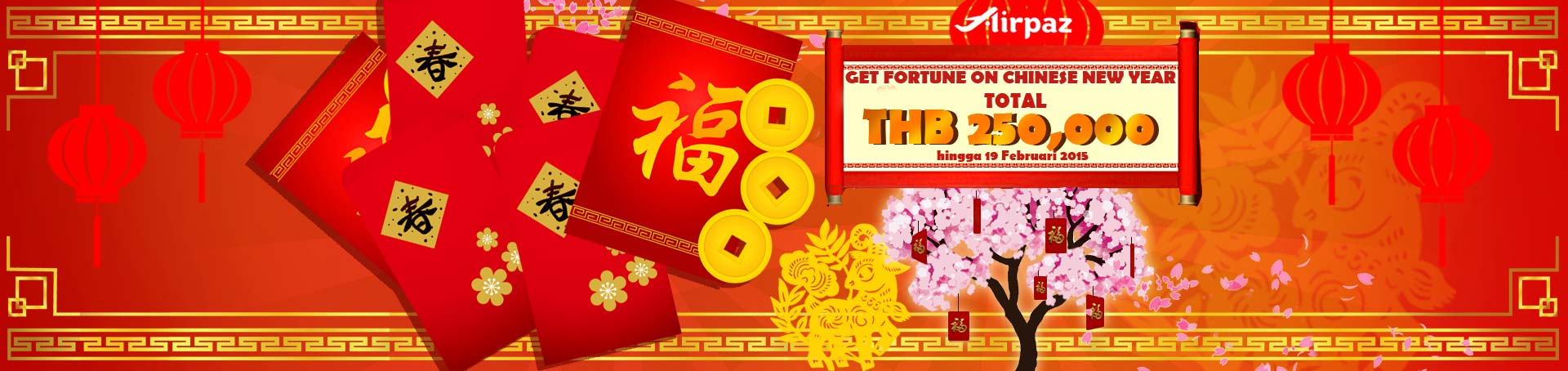 THB250.000 Chinese New Year Promo