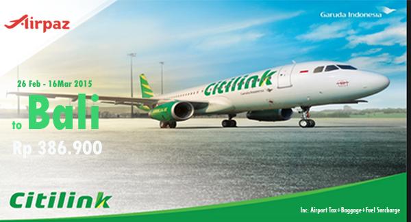 Tiket Pesawat Murah Citilink 2015
