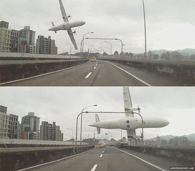 TransAsia Crashes in Taipei River, At Least Nine Death