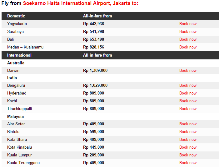 BIG SALE PROMO from AIRASIA Till 29 March 2015