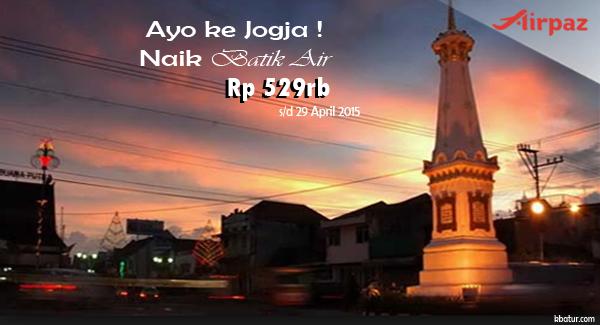 Promo Batik Air ke Jogjakarta