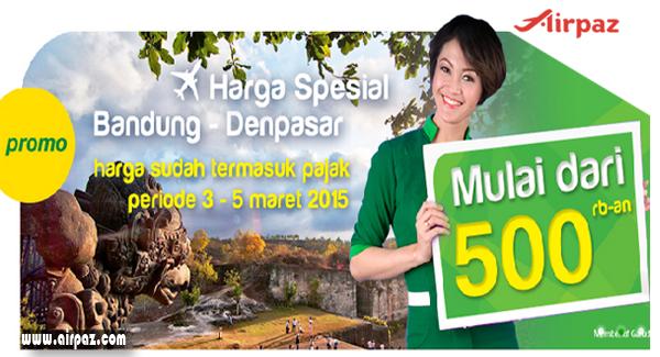 Promo Tiket Pesawat Citilink Bali 2- 5 Maret 2015