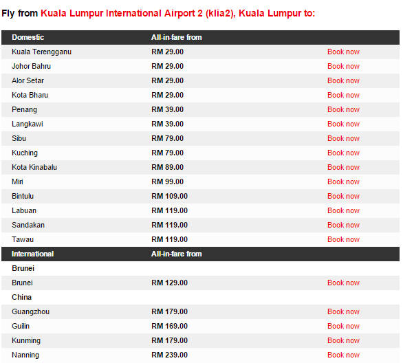 Promo and Cheap Flight AirAsia Till 05 April 2015