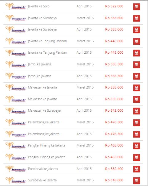 Tiket Promo Sriwijaya Air di Airpaz