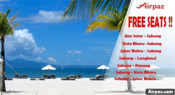 FREE SEAT Malindo Air