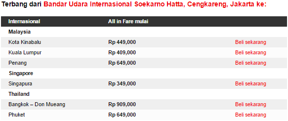 Promo AirAsia Mid Year Sale ke Bangkok hingga 12 April 2015