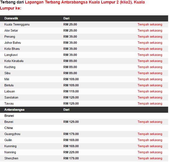 Promo AirAsia till  April 2015
