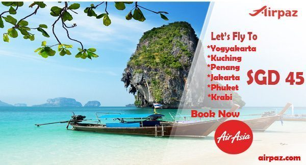 Promo Airasia from Singapore till 26 April 2015