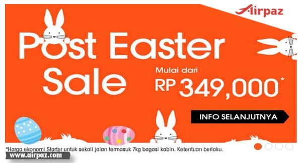 Promo Jetstar Celebrate Easter till 13 April 2015