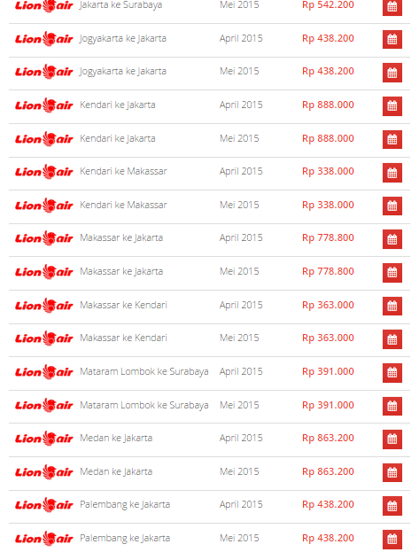 Promo Lion Air April  2015  di Airpaz 1