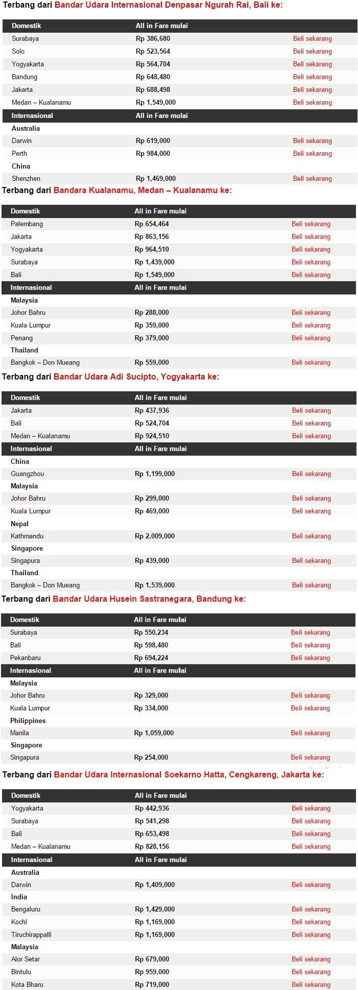 Promo Tiket Pesawt Airasia di  Airpaz 27 April 2015