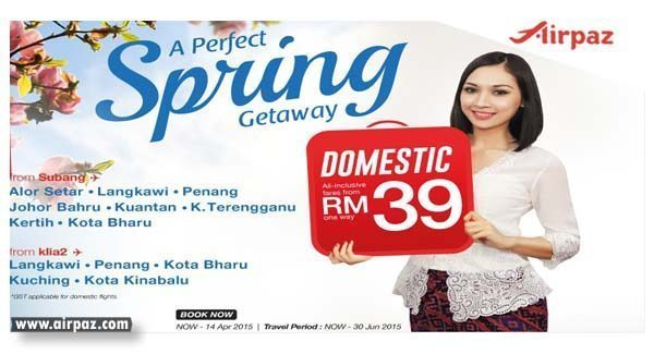 Promo and SUPER SALE Malindo Air till 14 April 2015