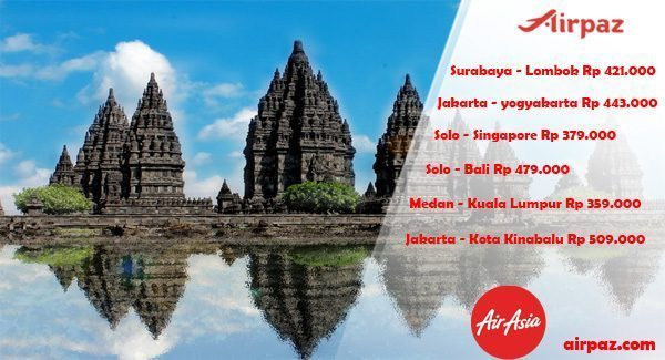 Tiket Pesawat Murah AirAsia Hingga 3 Mei 2015