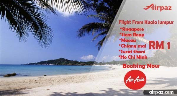 BIG Promo AirAsia Only RM1 Till 10 May 2015