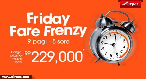 Promo Friday Frenzy Jetstar 29 Mei 2015