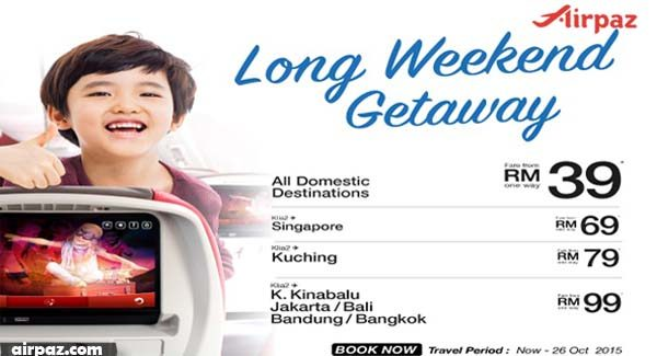 malindo long weekend getaway
