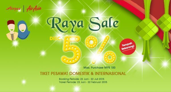 Raya Sale from Airpaz