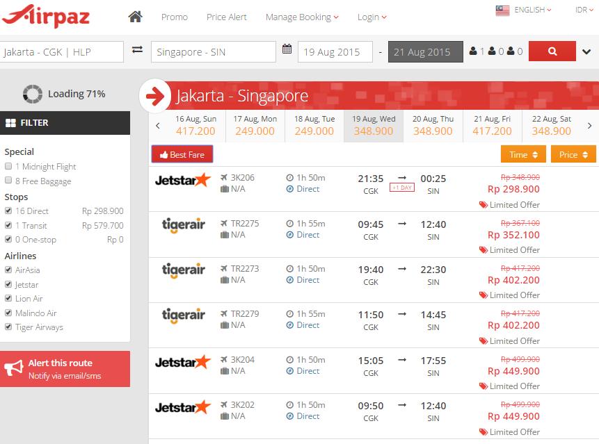 Tips Tiket Pesawat Murah ke Singapore