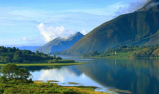 10 Tempat Wisata Indonesai Wajib Dikunjungi Danau Toba