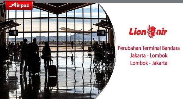 Perubahan Terminal Bandara Lion Air